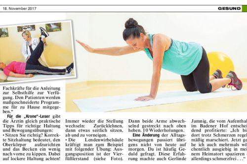 Beste Gesundheit in der Kronen Zeitung