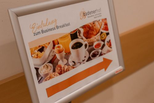 Business Breakfast war ein voller Erfolg!