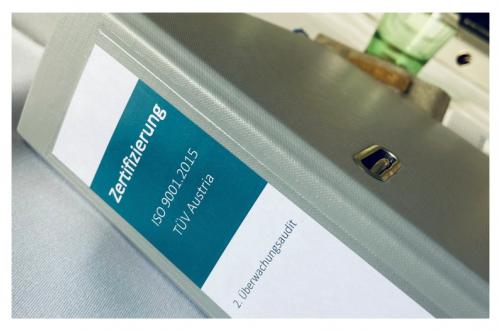 ISO 9001:2015 & QMS-REHA® Zertifizierung wieder erfolgreich bestanden!
