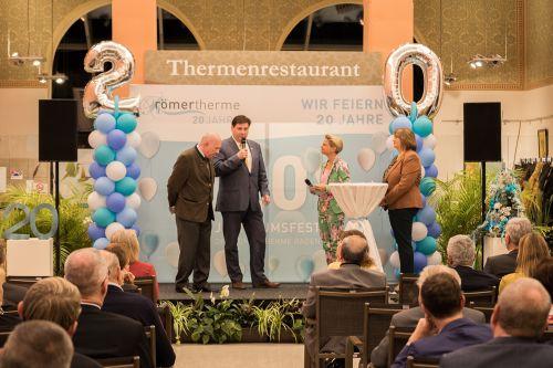 Jubiläumsfest 20 Jahre Römertherme war ein voller Erfolg!