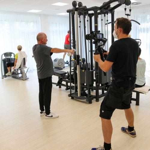 Bewegungstherapie im neuen Kardio-Fit-Raum