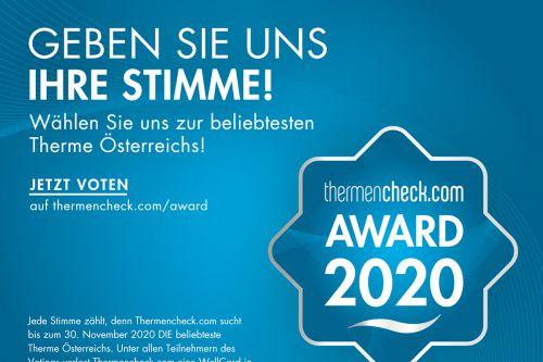 Thermencheck Award 2020