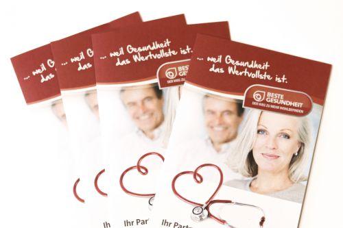 Neuer Folder der Beste Gesundheit-Betriebe