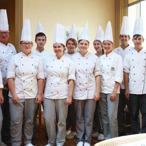 Praktikanten Küche