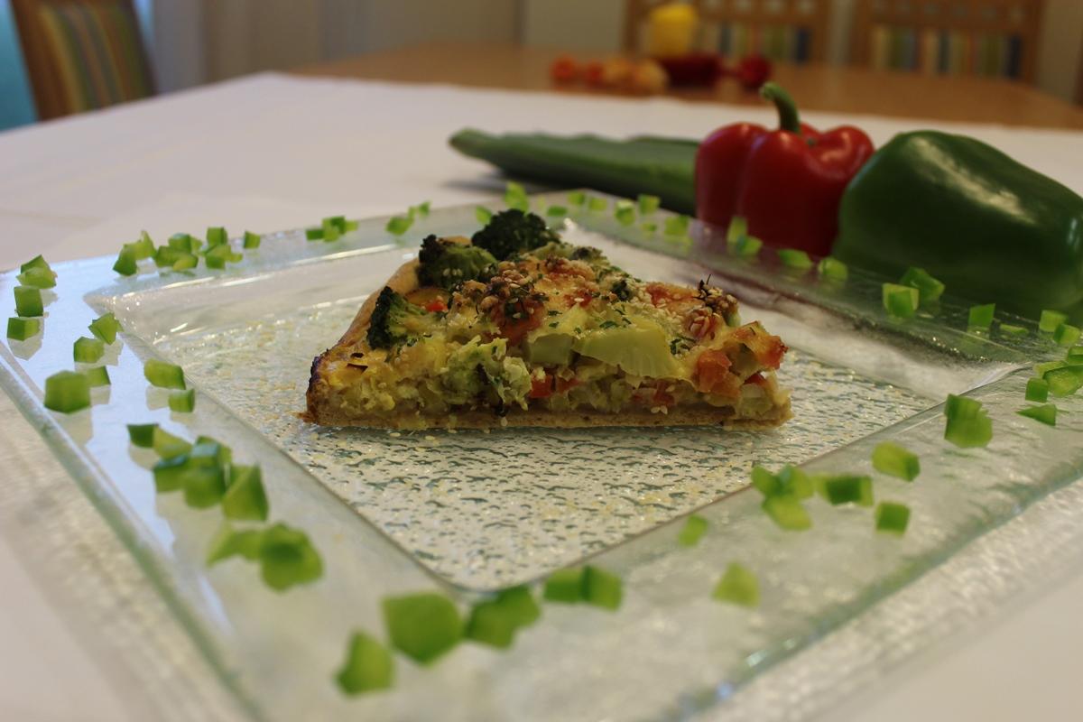 Brokkoli-Lauch-Quiche