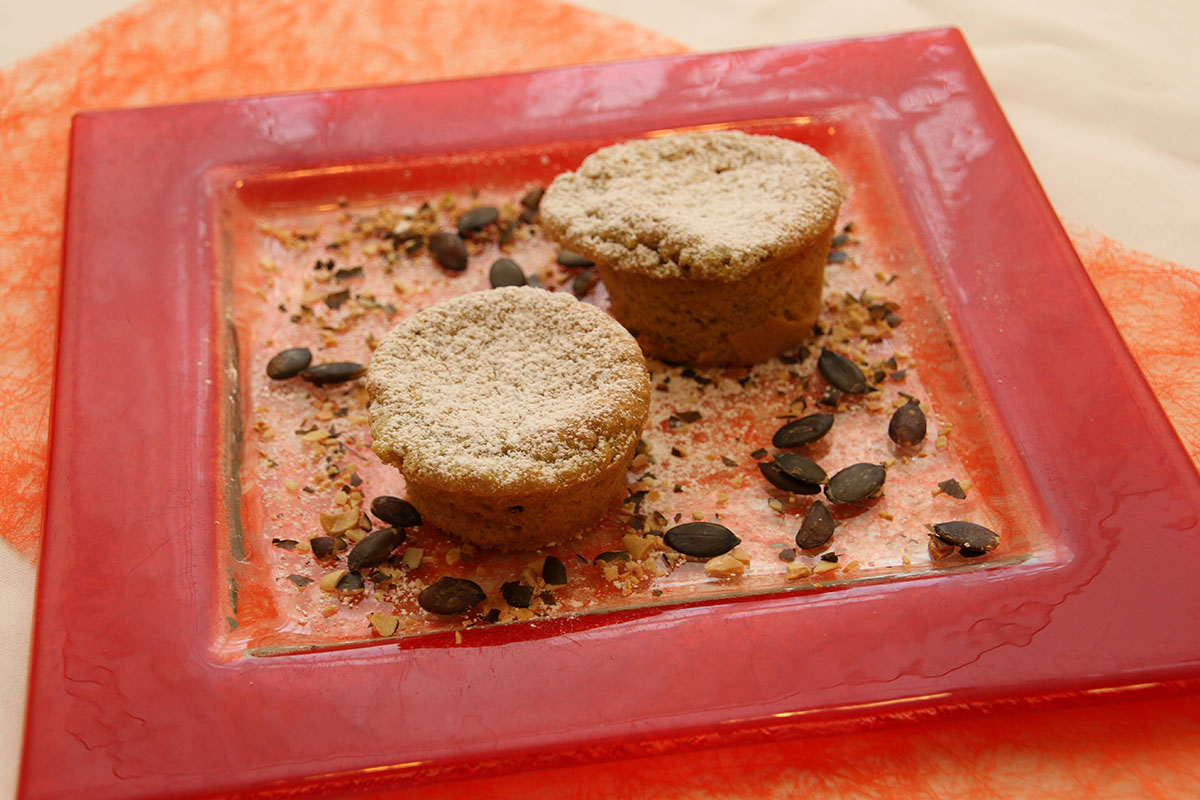 Hanf-Kürbismuffins