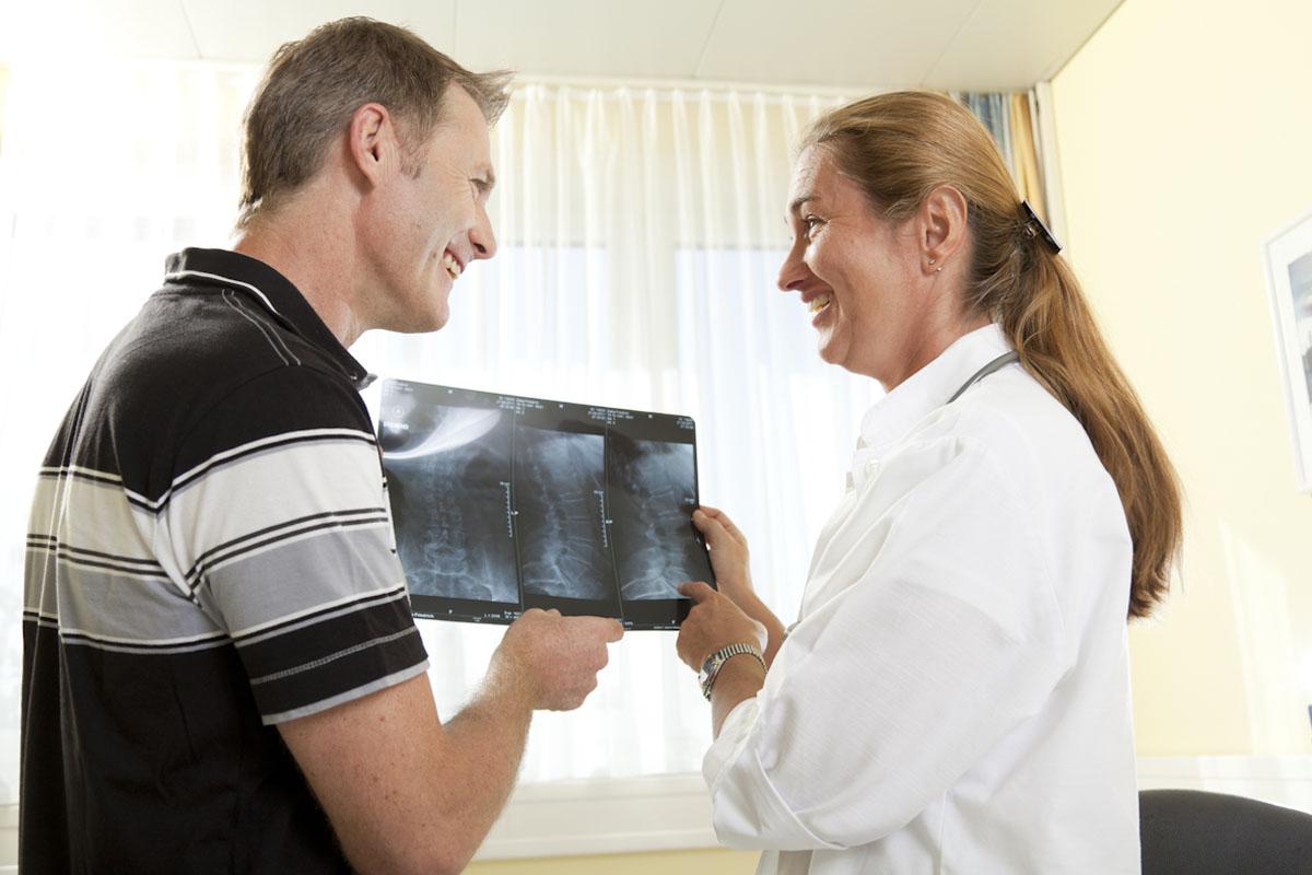 Mäßige Schmerzen - Behandlungsbeispiel für eine Woche im Moorheilbad Harbach