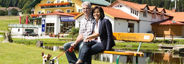 Wanderbares Moorbad Harbach in der Cafe-Pension Kristall
