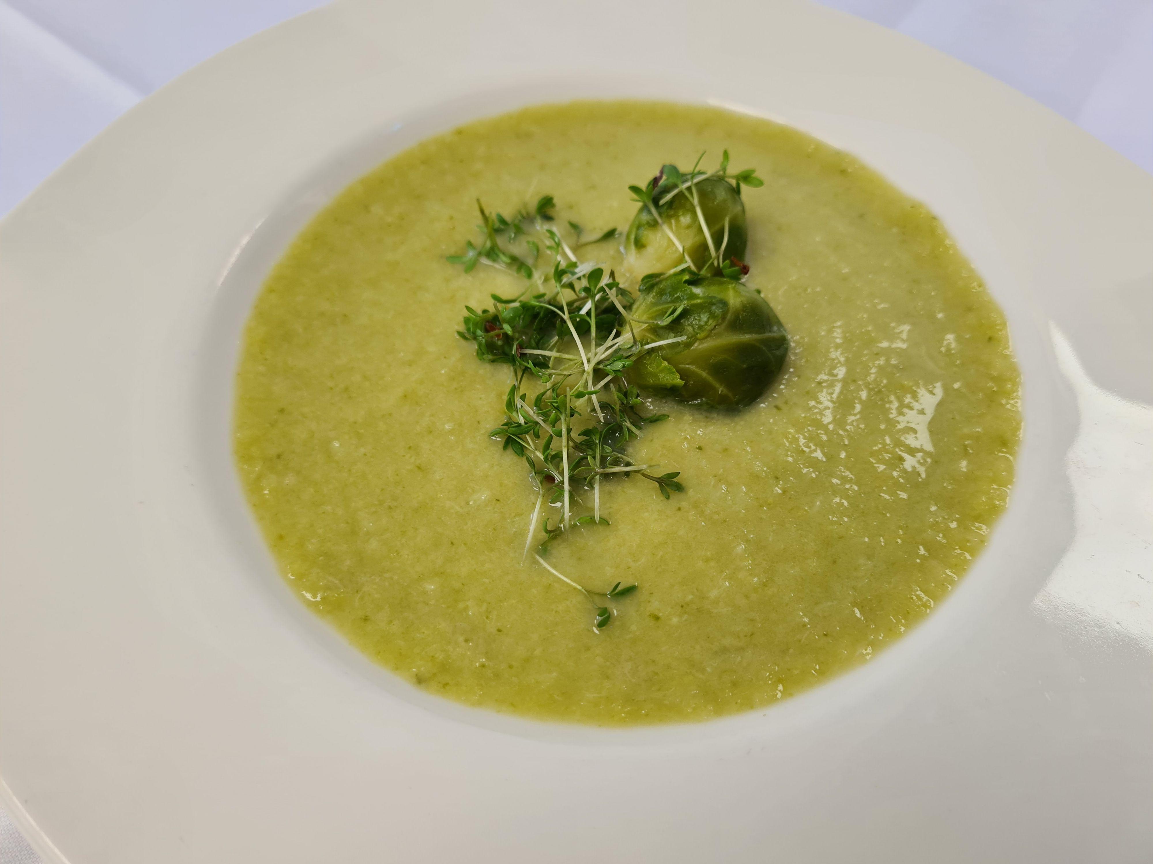 Kohlsprossen-Suppe
