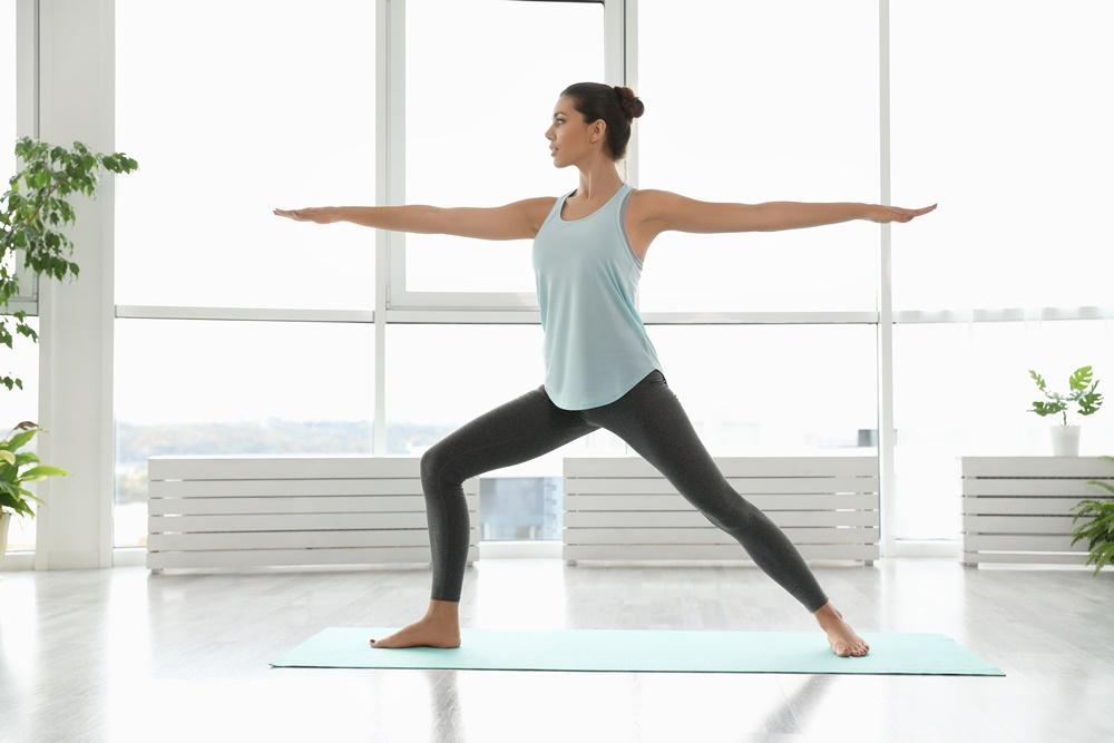 Yoga - der KRIEGER