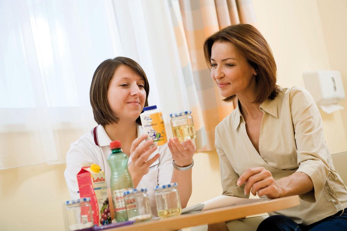 Ernährungsmedizinische Beratung