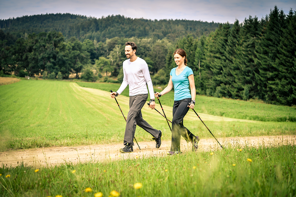 Techniktraining fürs Nordic Walking